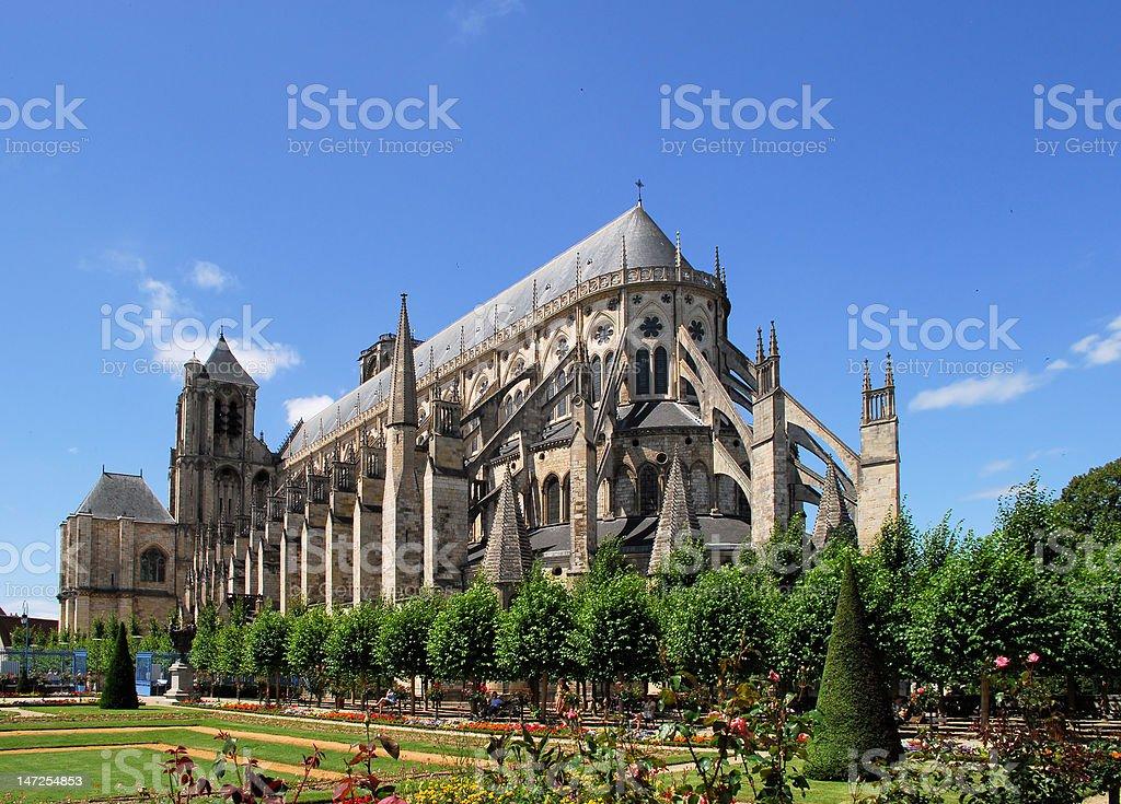 Cathédrale de Bourges stock photo