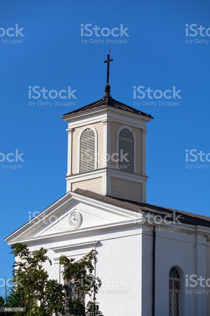 Cathédrale de Saint-Denis de La Réunion stock photo