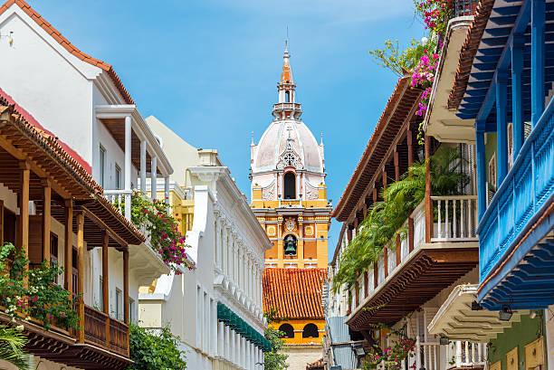 大聖堂とバルコニー - コロンビア ストックフォトと画像
