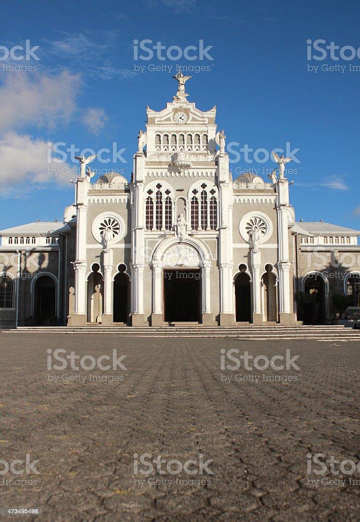 Cathedral Basilica de Nuestra Señora de los Ángeles stock photo