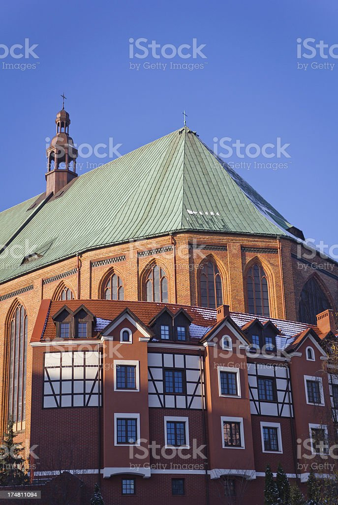 Cathedral Basilica of St. Jacob stock photo