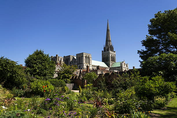 Cathedral Church of the Holy Trinity in Chichester, England – Foto