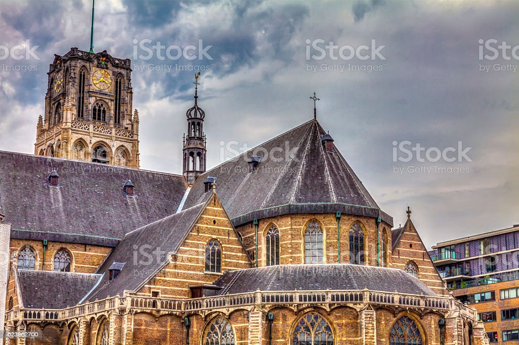 Cathedral church Rotterdam – Foto