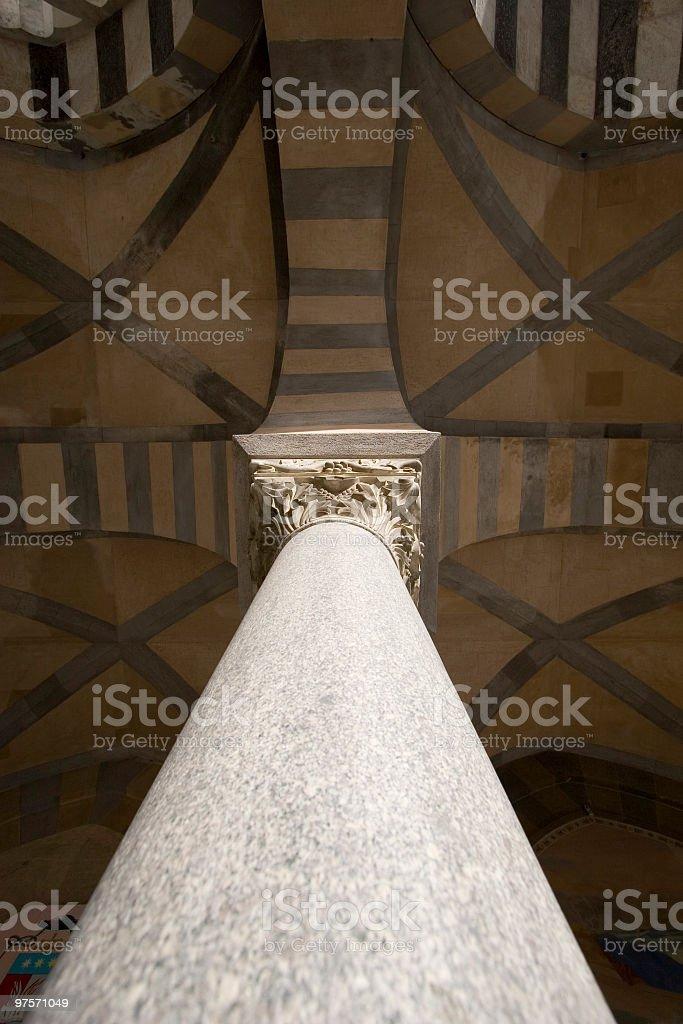 Cathédrale de colonne photo libre de droits