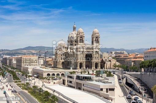 istock Cathedral de la Major in Marseille 492262578