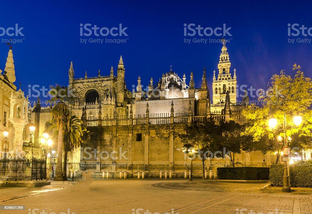 Cathedral de Santa Maria  la Sede ,Seville, Andalusia, Spain stock photo