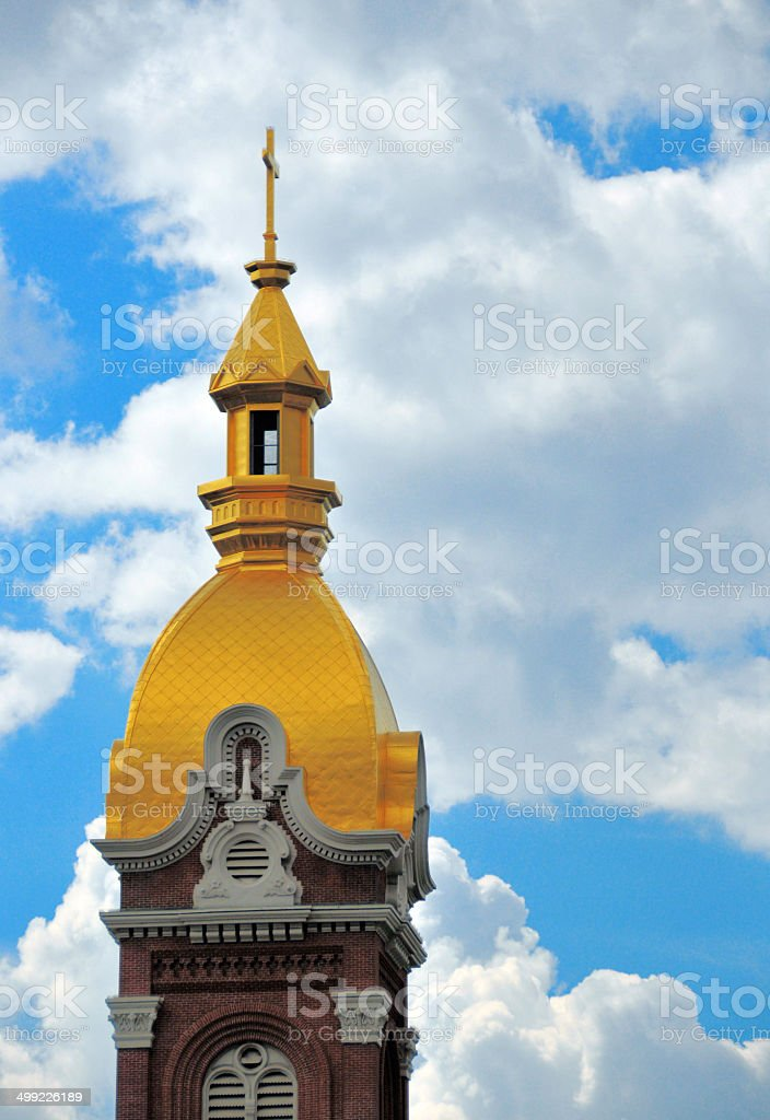 Cathedral fo the Immaculate Conception, Kansas City stock photo
