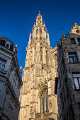 The Cathedral of Our Lady is a Roman Catholic cathedral in Antwerp, Belgium.