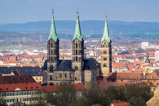Cathedral in Bamberg Bavaria