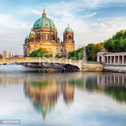 istock Cathedral in Berlin, Berlin Cathedral 492520460