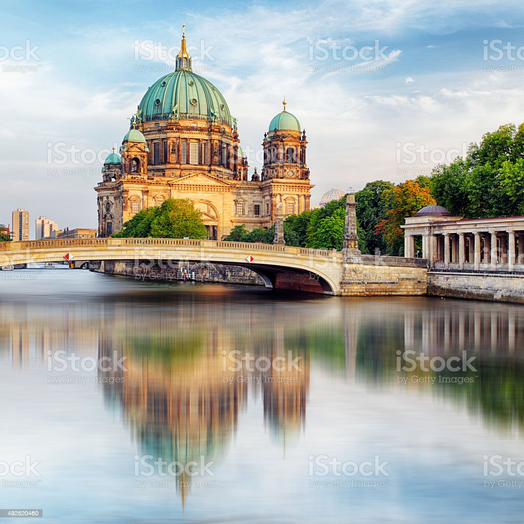 Cathedral in Berlin, Berliner Dom stock photo