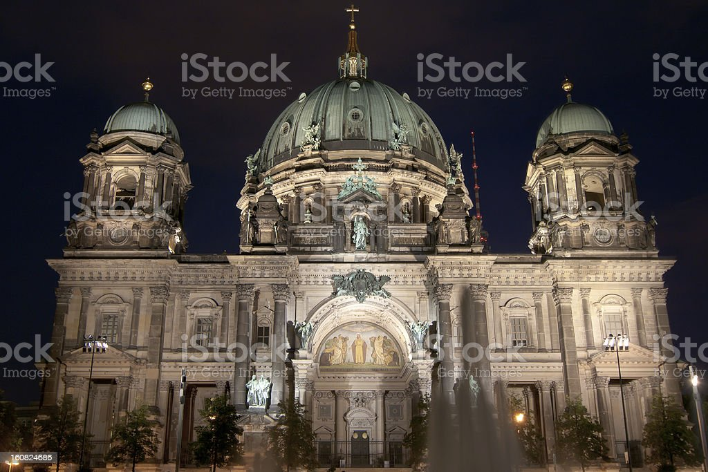 Cathedral in Berlin, Germany royalty-free stock photo