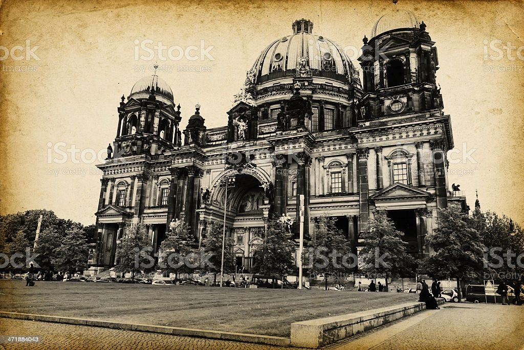 Cathedral in Berlin, Germany stock photo