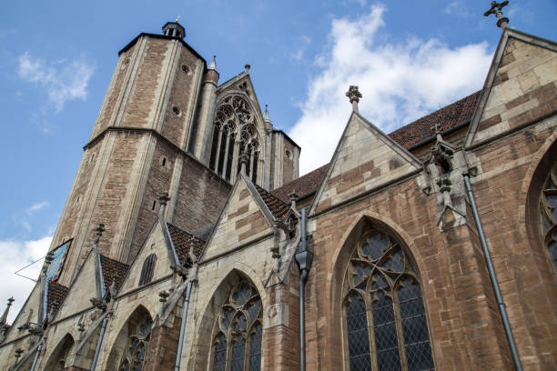 Cathedral in Braunschweig, Germany stock photo