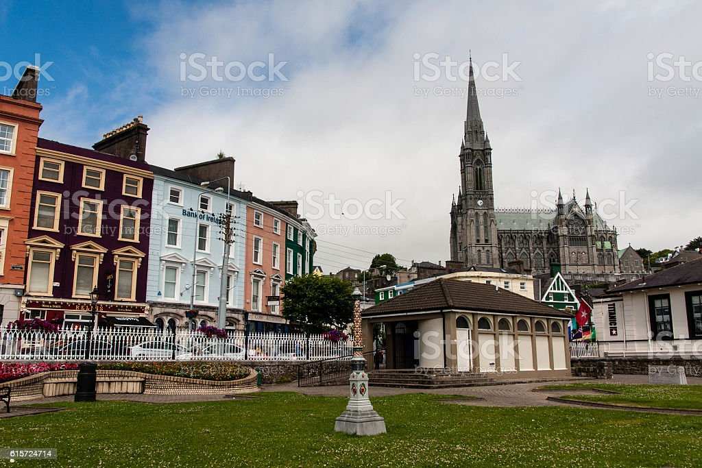 Cathedral in Cobh stock photo