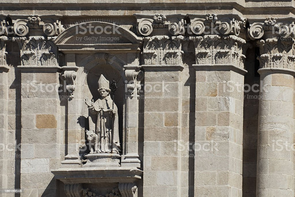 Cathedral in Lugo, Spain royalty-free stock photo