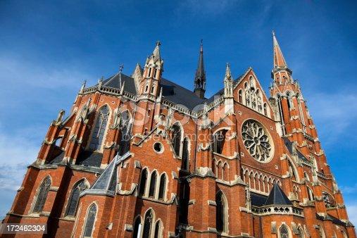 istock Cathedral in Osijek 172462304
