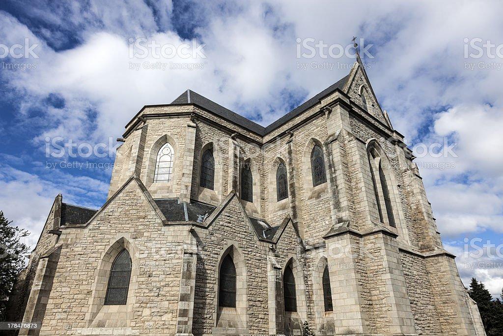 Cathedral in San Carlos de Bariloche royalty-free stock photo