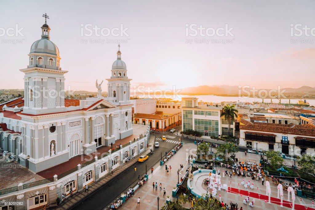 Kathedrale in Santiago De Cuba, Kuba – Foto