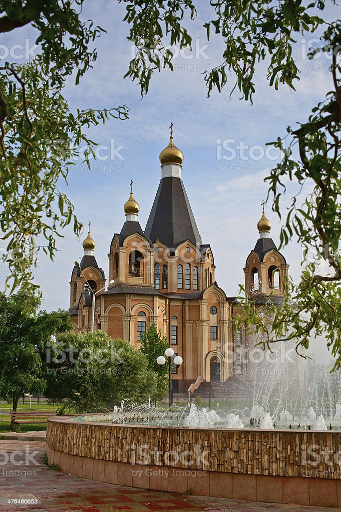 Cathedral in Smolensk region royalty-free stock photo