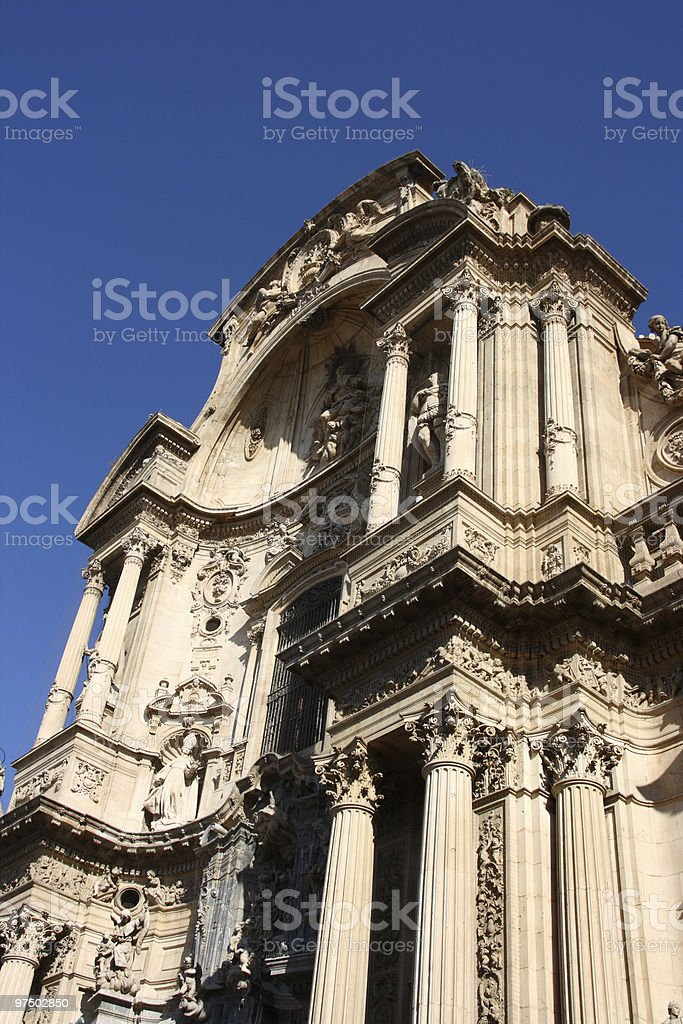 Cathedral in Spain royalty-free stock photo