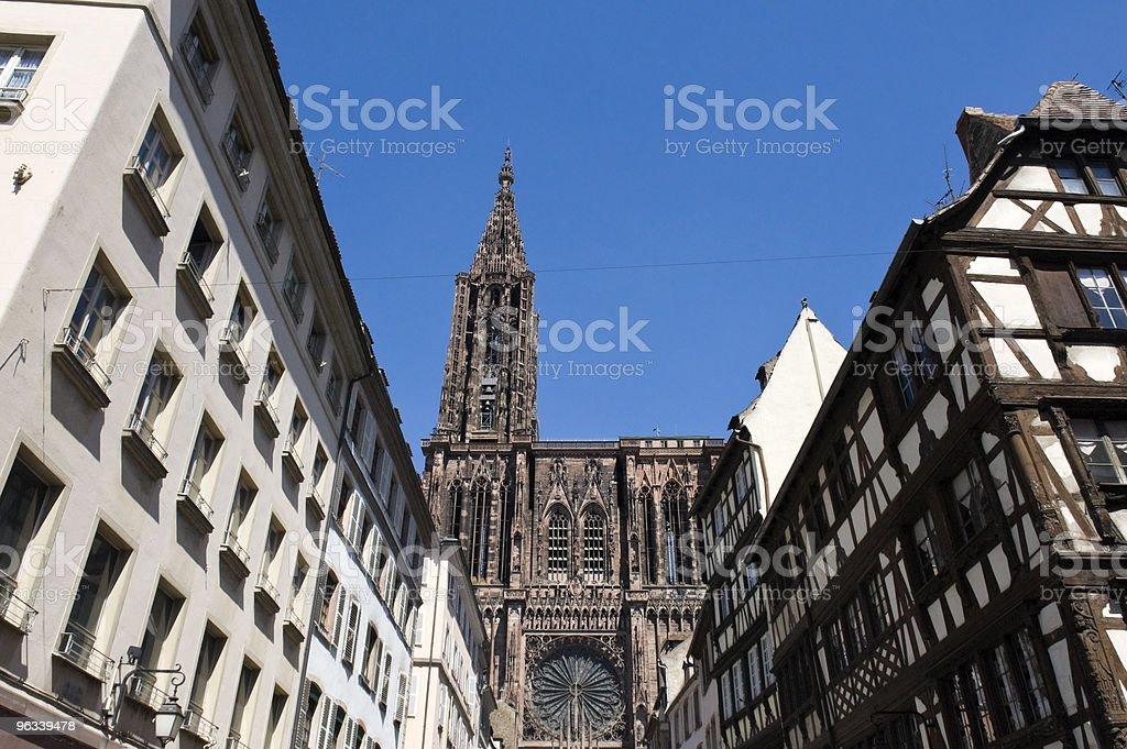 Katedra w Strasburgu - Zbiór zdjęć royalty-free (Alzacja)