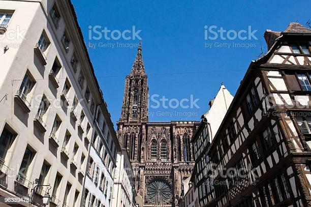 Katedra W Strasburgu - zdjęcia stockowe i więcej obrazów Alzacja