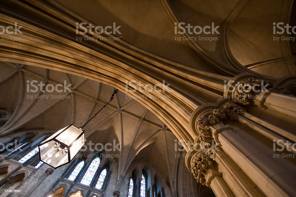 Cathedral Interior stock photo