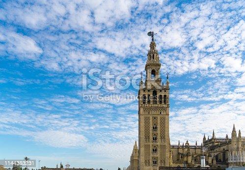 Cathedral La Giralda of Seville, Spain