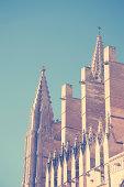 Cathedral La Seu in Palma de Mallorca.