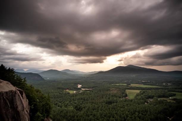Cathedral Ledge, White Mountains, New Hampshire, USA – Foto