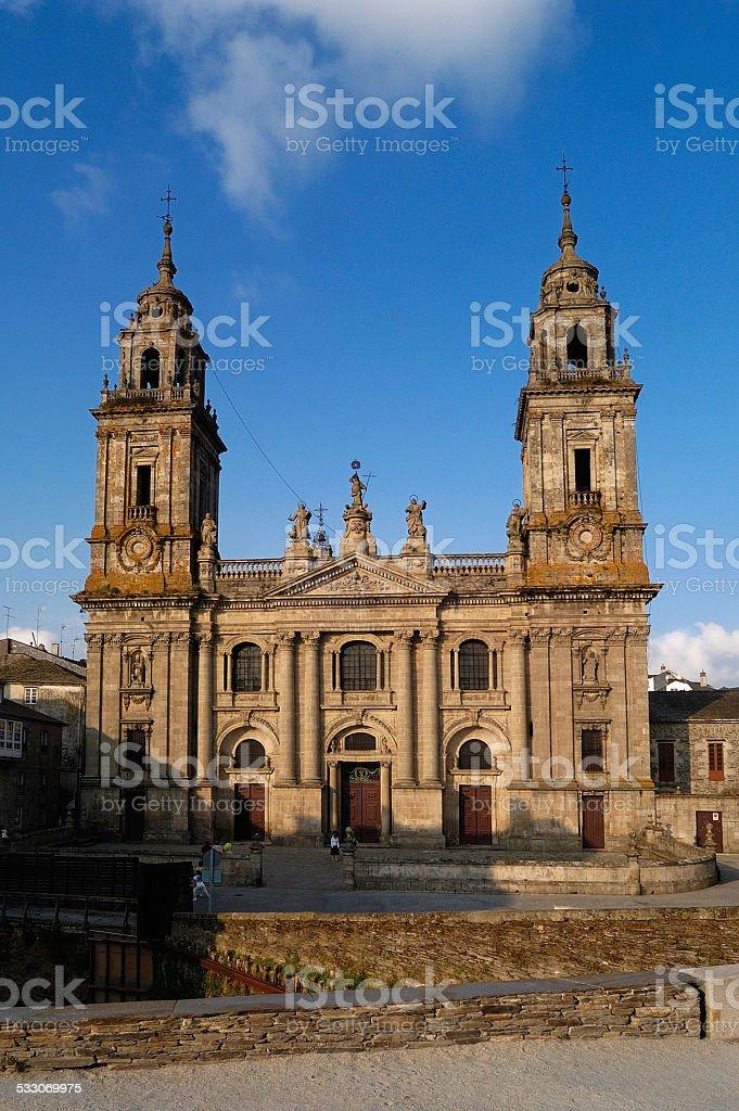 Catedral, Lugo, Galicia, España stock photo