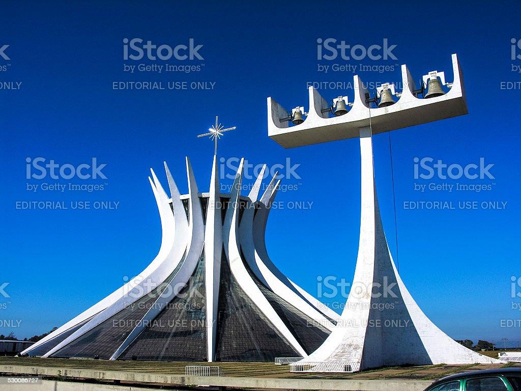 Catedral Metropolitana Nossa Senhora Aparecida Brasilia Brasil - foto de stock