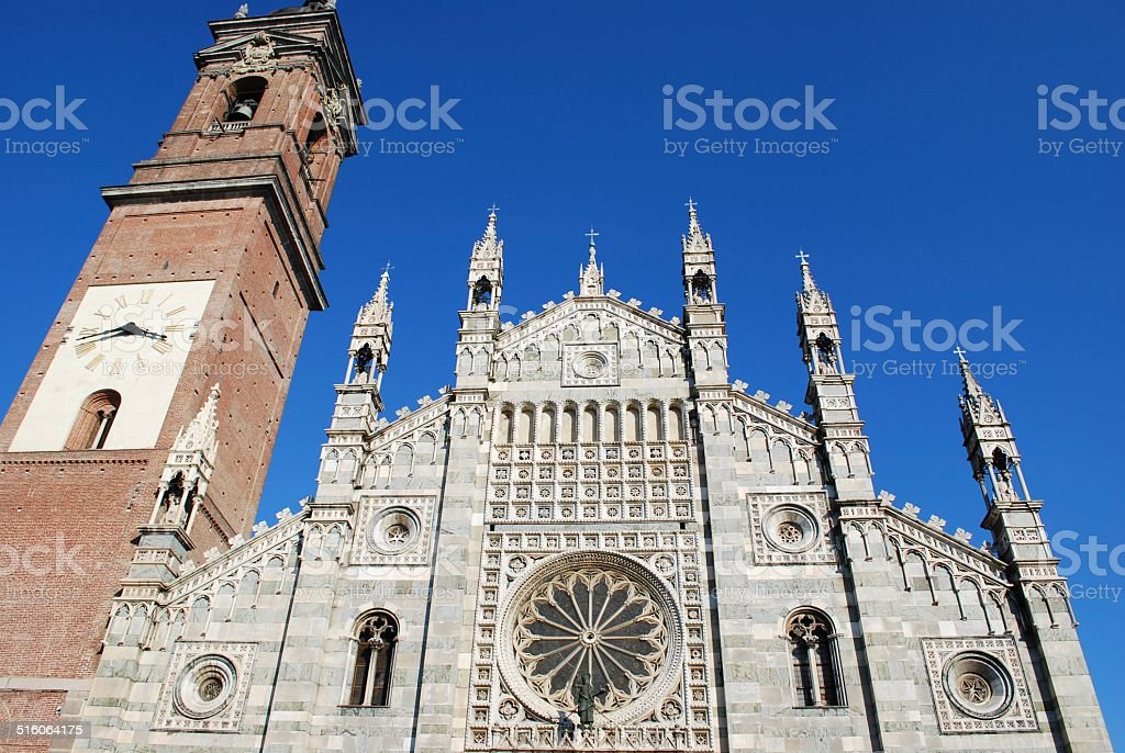 Cathedral, Monza stock photo