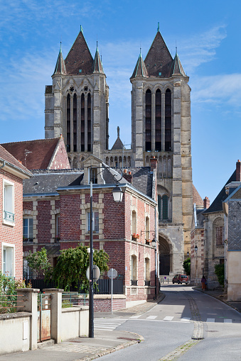 Cathedral Notredame Of Noyon Stock Photo - Download Image Now