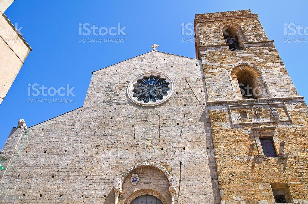 Cathedral of Acerenza. Basilicata. Italy. stock photo