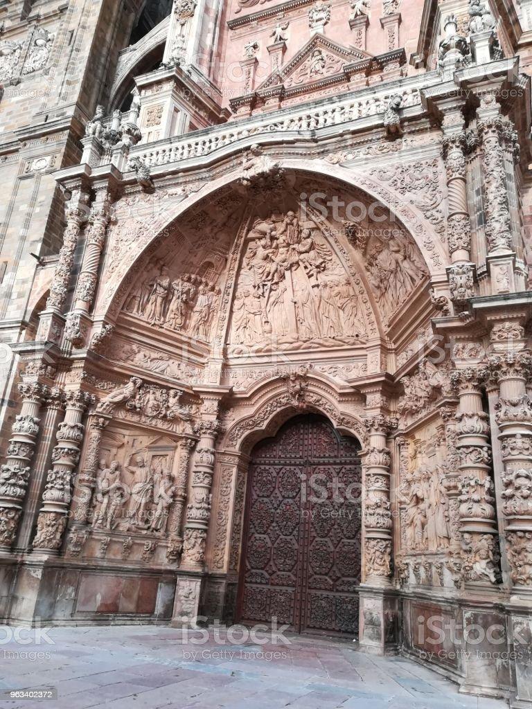 Katedra w Astorga - Zbiór zdjęć royalty-free (Architektura)