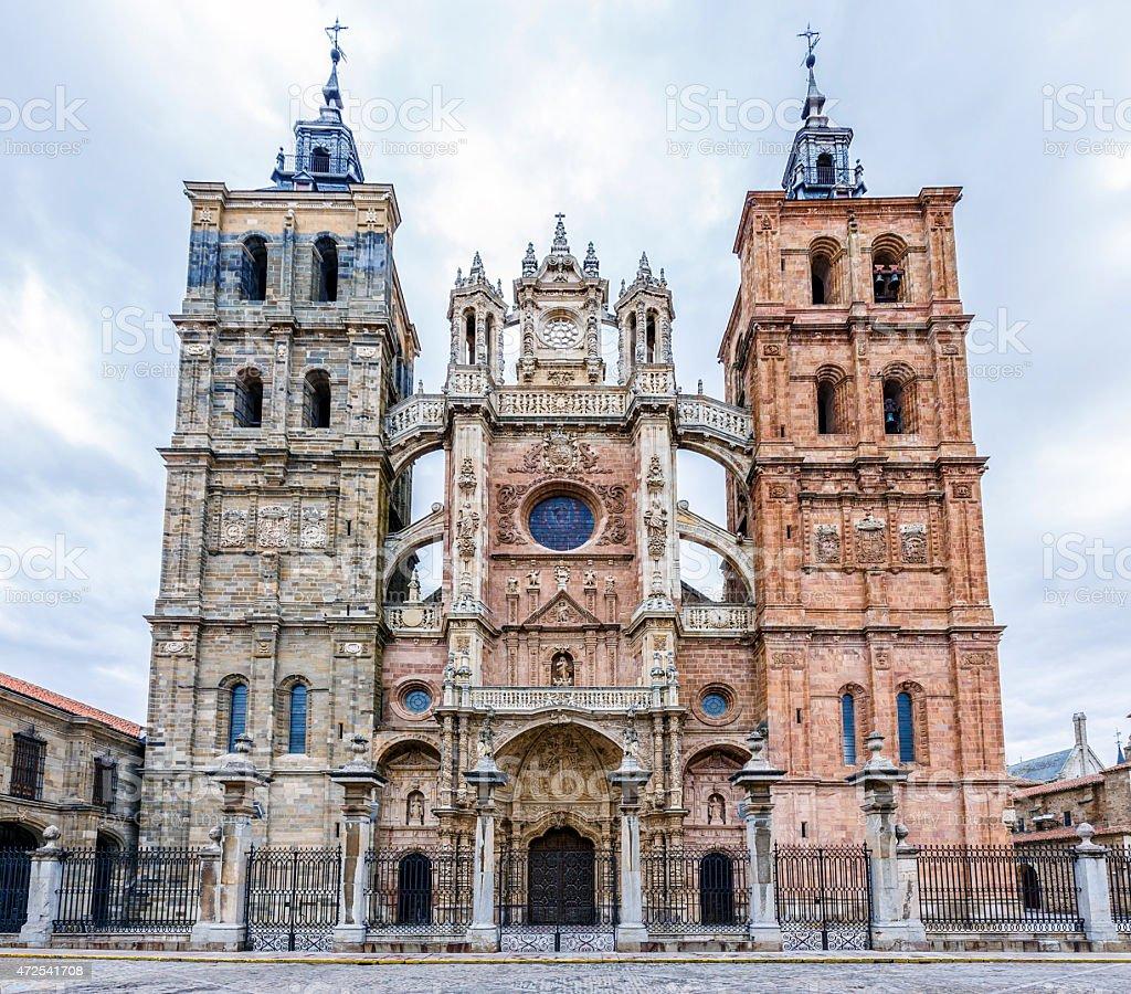 Catedral de Astorga España - foto de stock