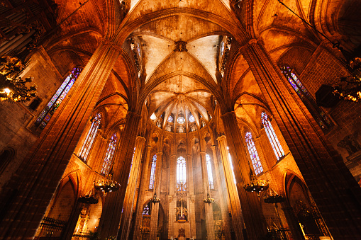 Cathedral of Barcelona Inside