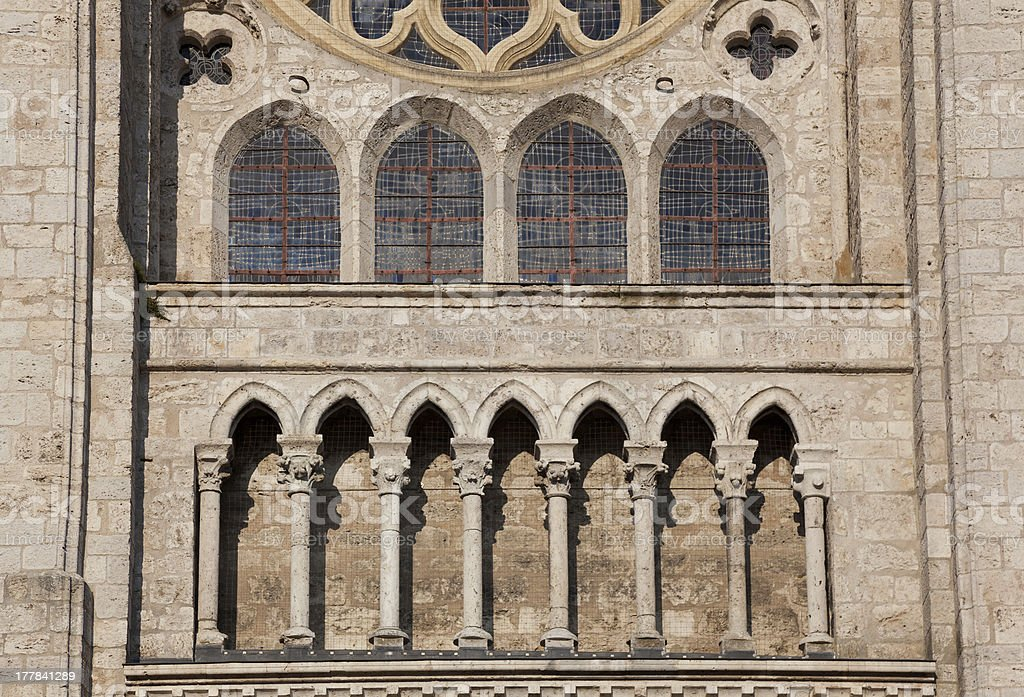 Cathedral of Blois royalty-free stock photo