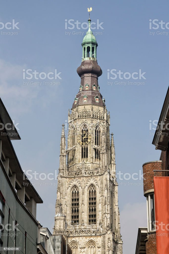 Cathedral of Breda, Holland royalty-free stock photo
