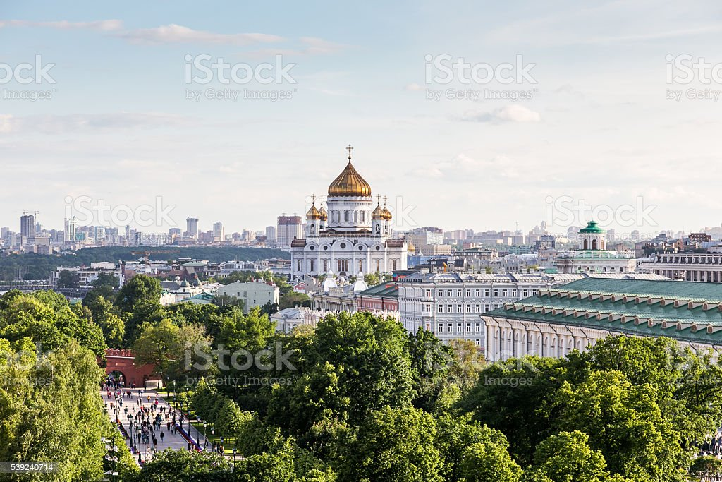 Cathedral of Christ the Savior royalty-free stock photo