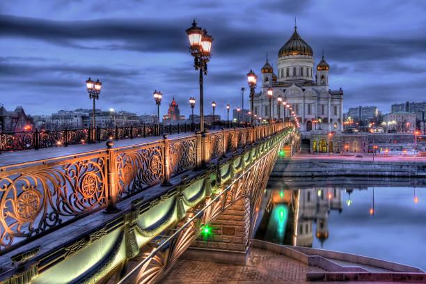 kathedrale von christus dem erlöser - russisch orthodoxe kirche stock-fotos und bilder