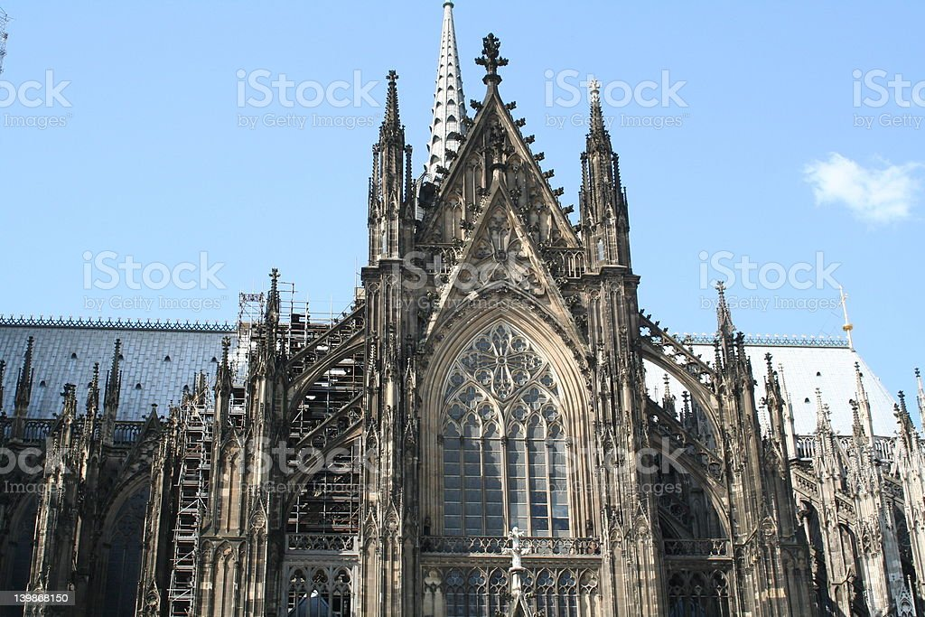 Cathedral of cologne royalty-free stock photo