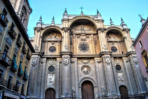 Cathedral of Granada, also known as La Santa y Apostólica Iglesia Catedral Metropolitana Basílica de la Encarnación de Granada or shorter S.A.I. Catedral Metropolitana Basílica de Granada