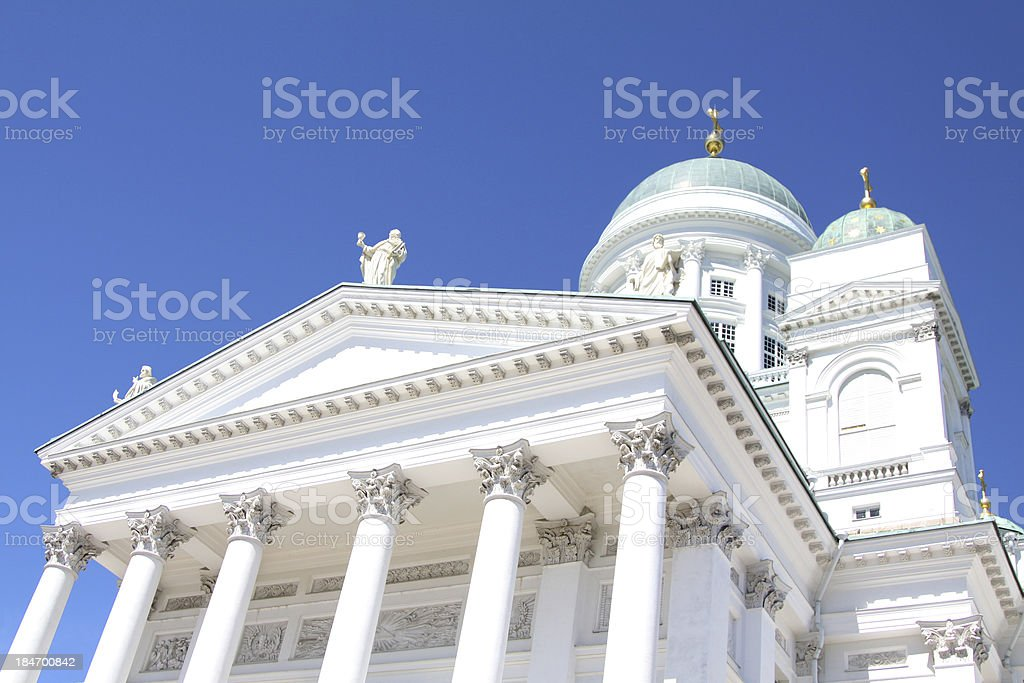 cathedral of Helsinki royalty-free stock photo