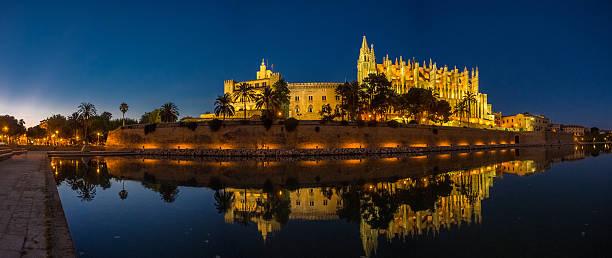 cathedral of majorca (balearic islands - spain) - pbsm fotografías e imágenes de stock