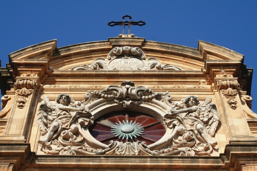 Cathedral of Mazara del Vallo. Detail.
