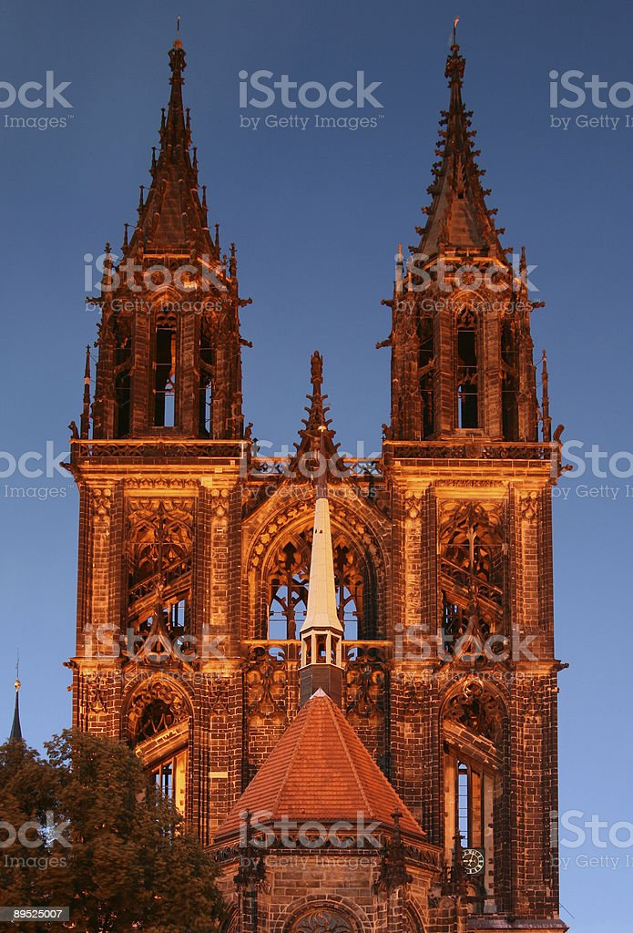 Cathedral of Meißen royalty-free stock photo