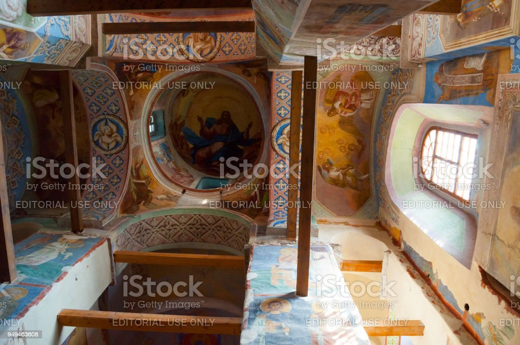 Cathedral of Nativity of Our Lady, St Anthony monastery stock photo